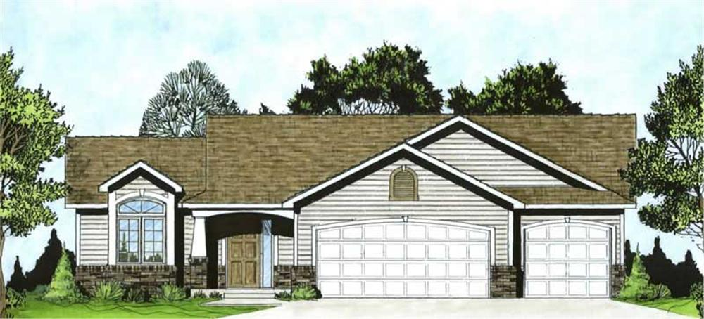 Main image for house plan # 16512