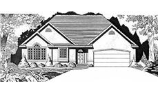 Main image for house plan # 16542