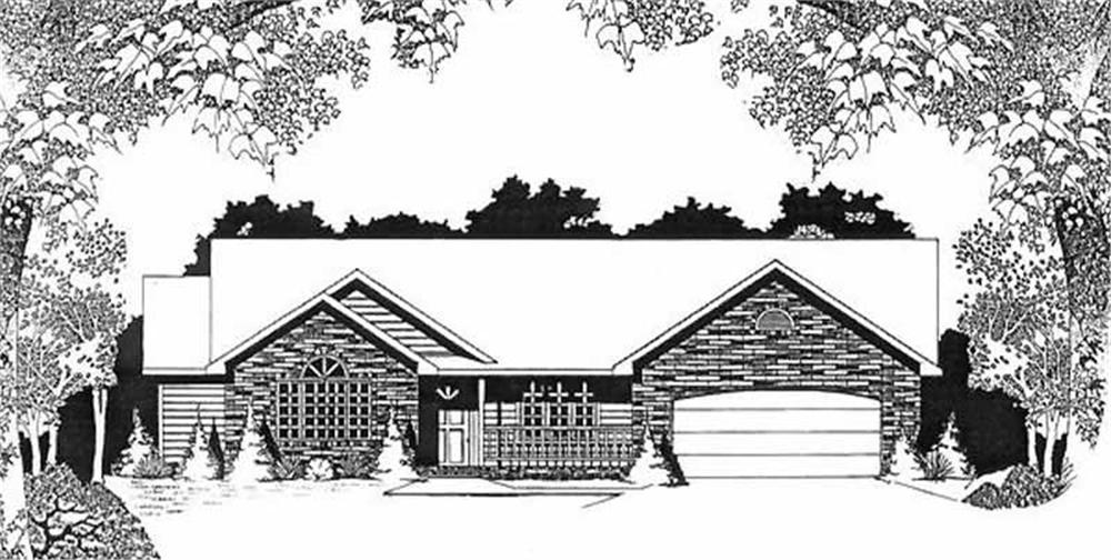 Main image for house plan # 16611