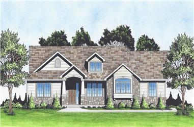 2-Bedroom, 1425 Sq Ft Ranch Home - Plan #103-1141 - Main Exterior