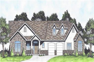 3-Bedroom, 1683 Sq Ft Craftsman Home - Plan #103-1162 - Main Exterior