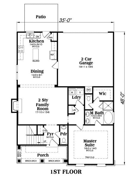 104-1000: Floor Plan Main Level