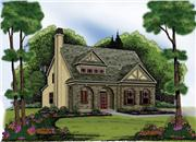 View house Plan#104-1000