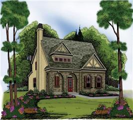 House Plan #104-1000