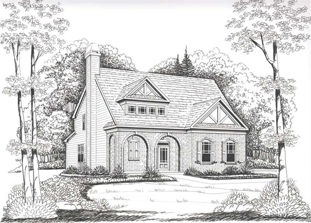House Plan Chastain Front Elevation