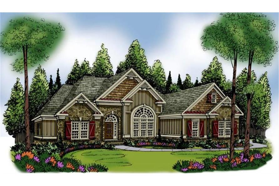 104-1004: Home Plan Rendering