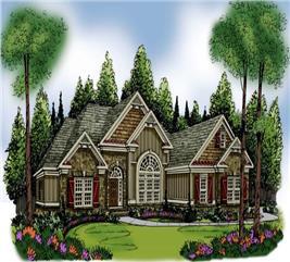 House Plan #104-1004