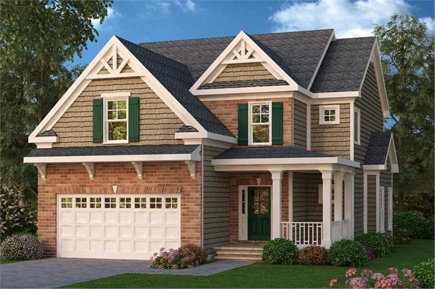 Main image for house plan # 20265