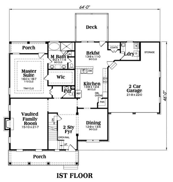 104-1006: Floor Plan Main Level