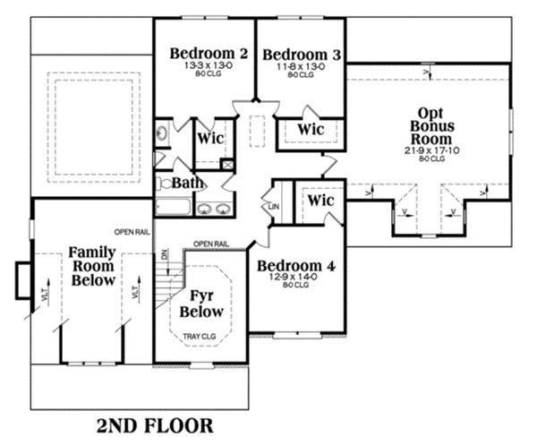104-1006: Floor Plan Upper Level