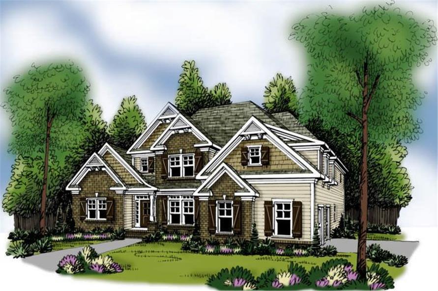 104-1010: Home Plan Rendering