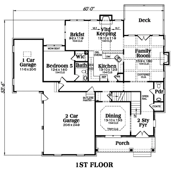 104-1011: Floor Plan Main Level