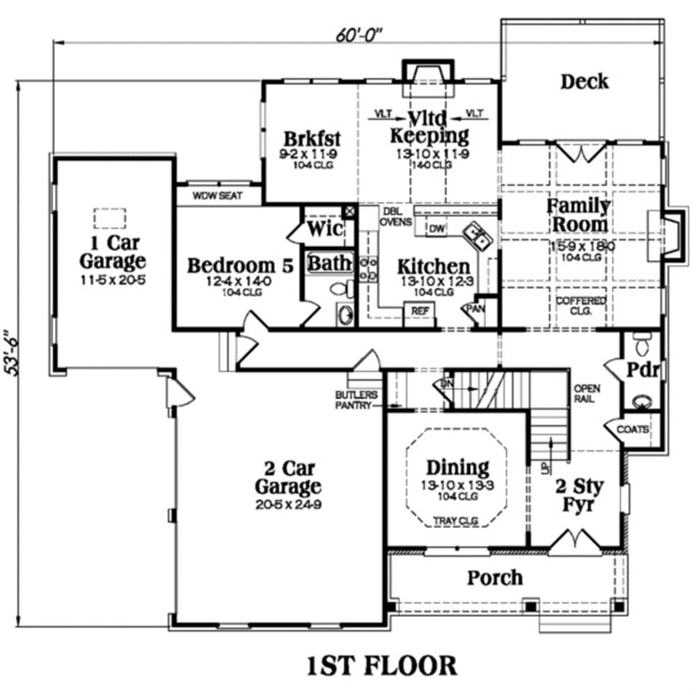 104-1011: Floor Plan Main Level