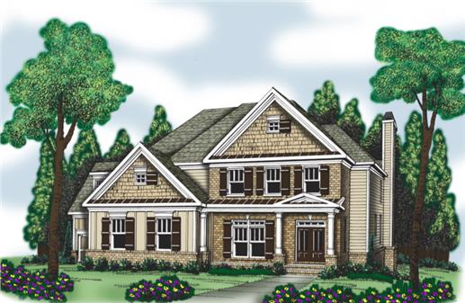 Main image for house plan # 20212