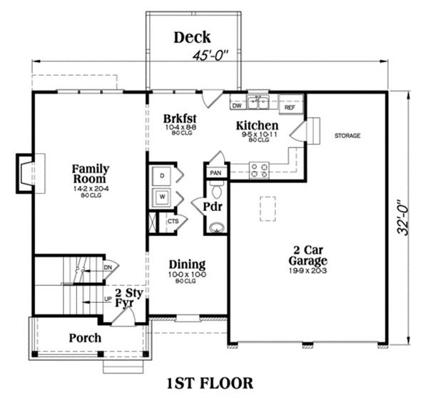 104-1012: Floor Plan Main Level
