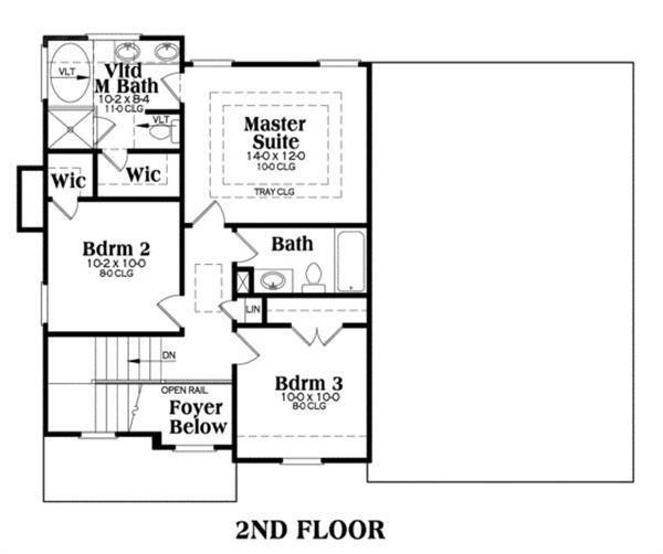 104-1012: Floor Plan Upper Level