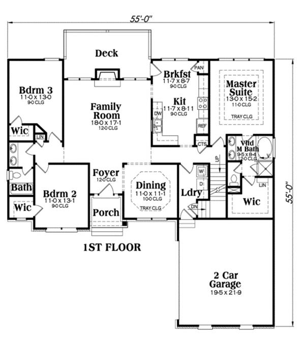104-1013: Floor Plan Main Level