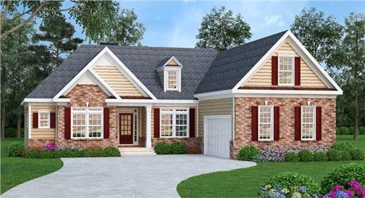 Main image for house plan # 17039
