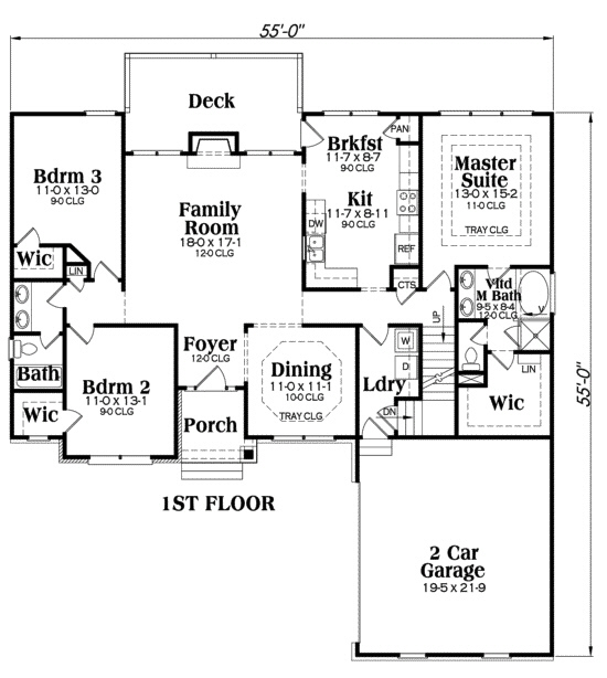 104-1014: Floor Plan Main Level