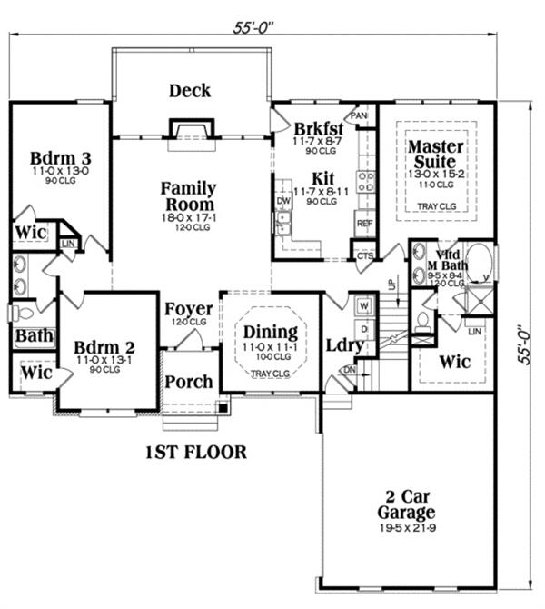 104-1014: Floor Plan Main Level