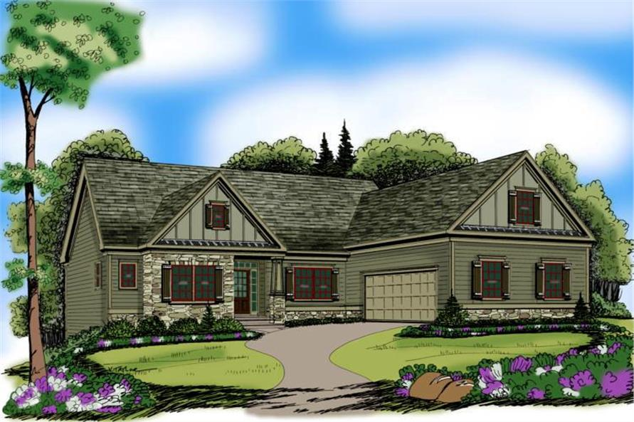 104-1014: Home Plan Rendering