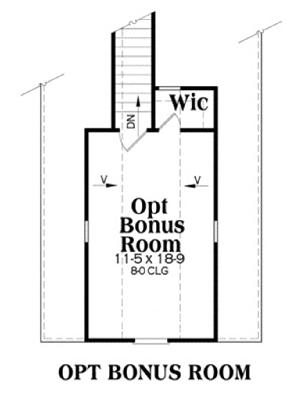 104-1014: Floor Plan Upper Level