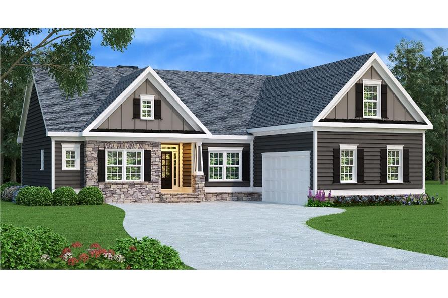 Main image for house plan # 17036