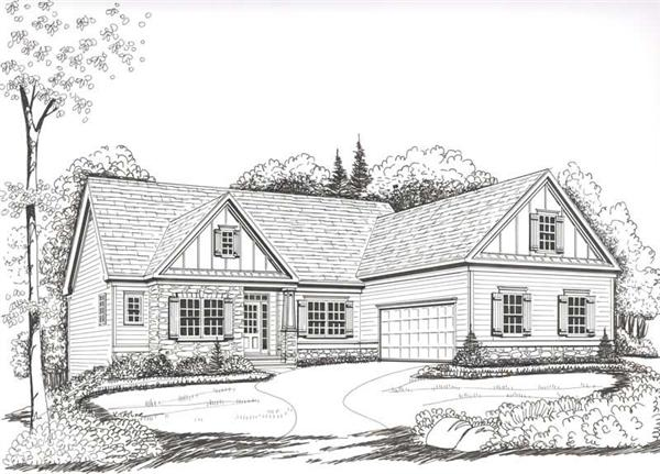 House Plan Lanier Front Elevation