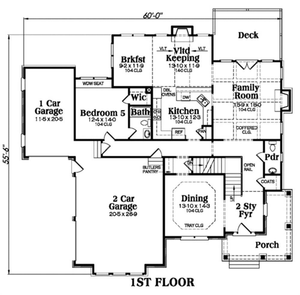 104-1015: Floor Plan Main Level