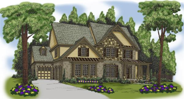 Main image for house plan # 20215