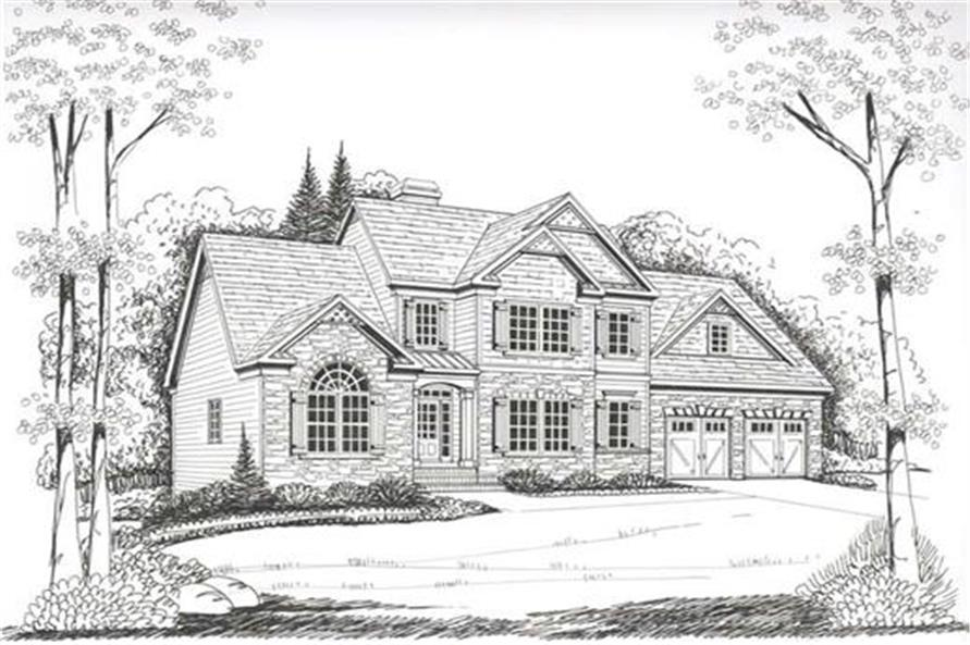 104-1017: Home Plan Rendering
