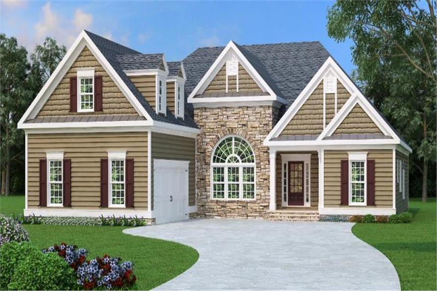 Home Exterior Photograph of this 3-Bedroom,2397 Sq Ft Plan -2397