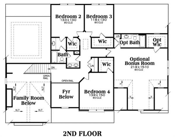 104-1020: Floor Plan Upper Level