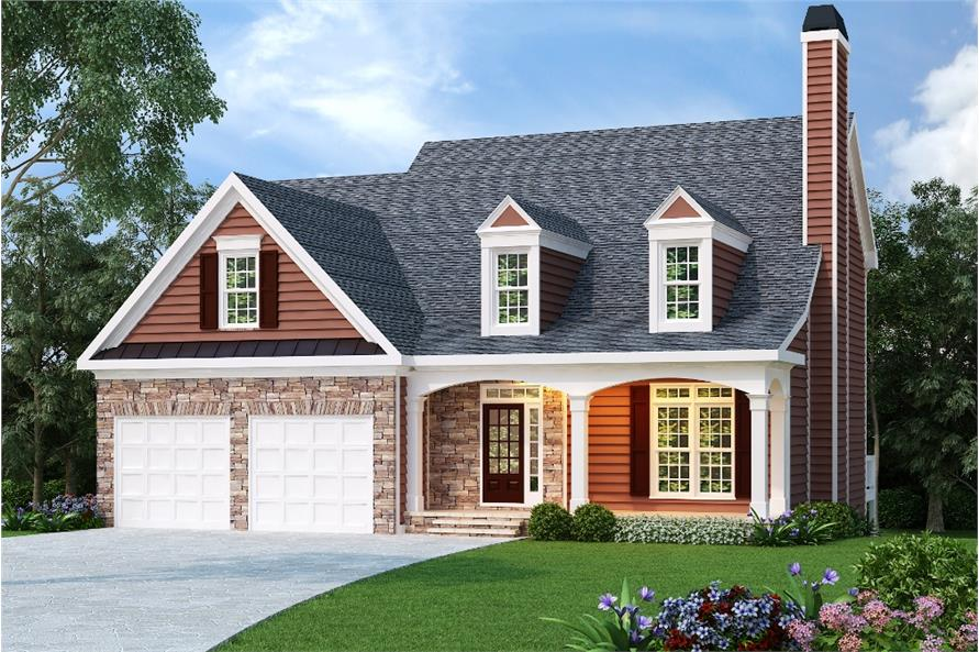 104-1025: Home Plan Rendering