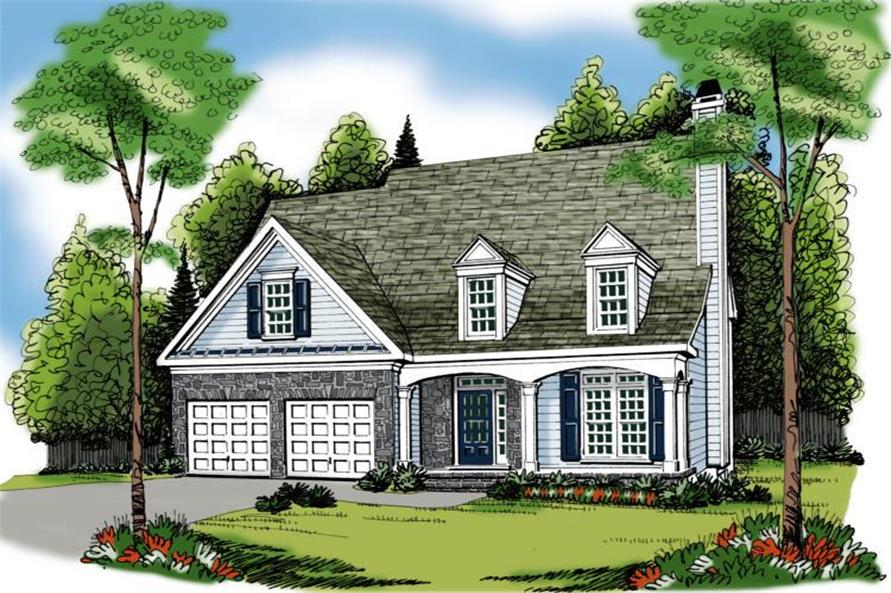 104-1025: Home Plan Rendering