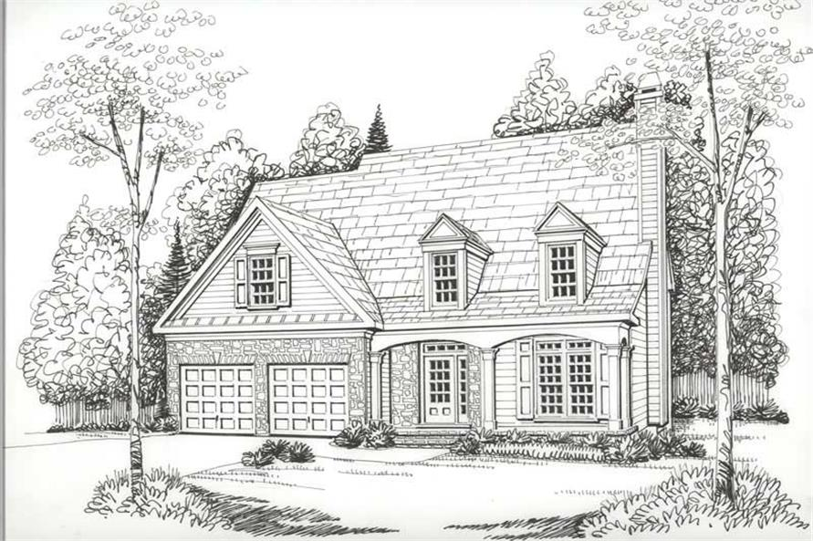 House Plan Devonshire Front Elevation