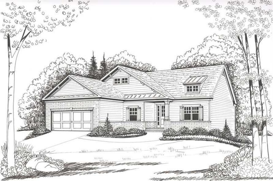 House Plan Fullerton Front Elevation