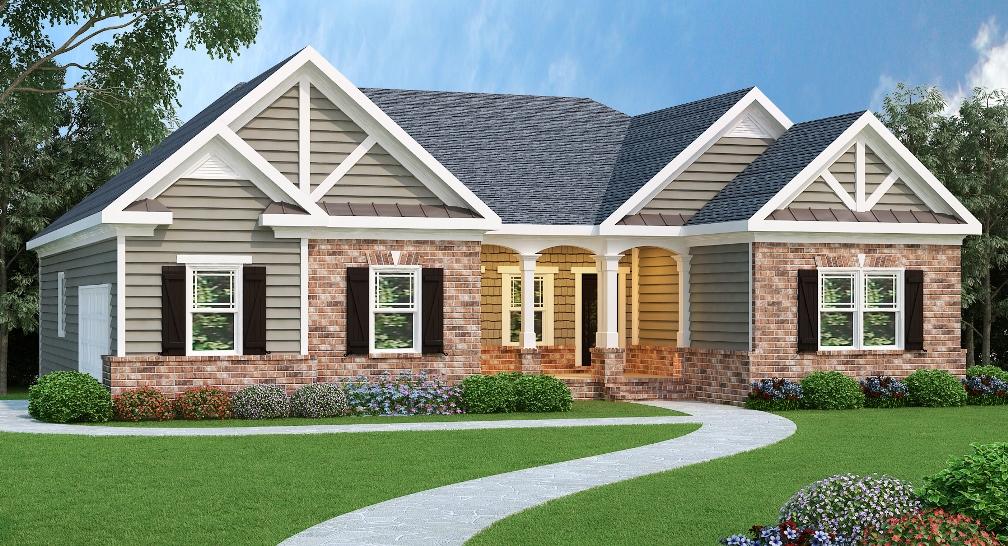 3 Bedrm 1960 Sq Ft Ranch House Plan 104 1028