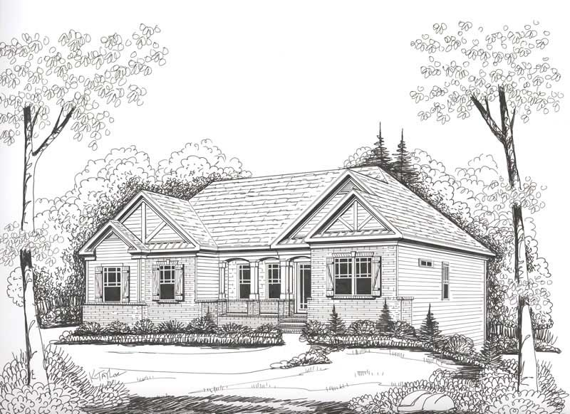 3 bedrm 1960 sq ft ranch house plan 104 1028 for 1960 ranch house plans