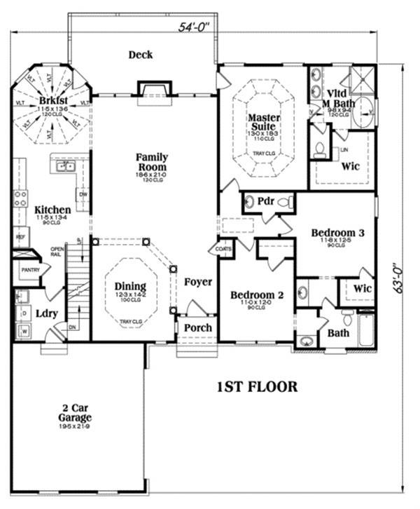 104-1029: Floor Plan Main Level