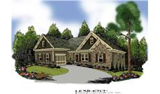 Main image for house plan # 17212