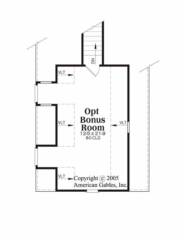House Plan Lexington Second Floor Plan