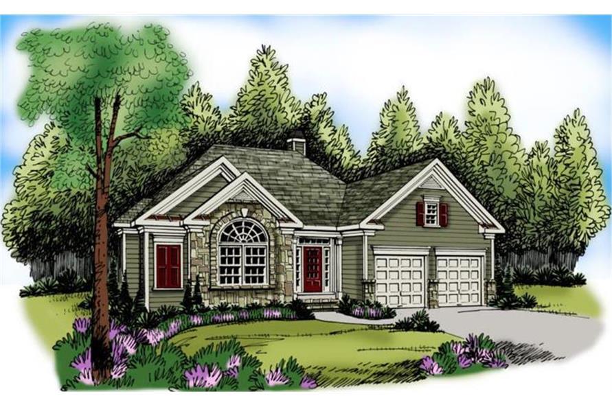 104-1030: Home Plan Rendering