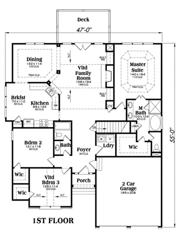 104-1030: Floor Plan Main Level