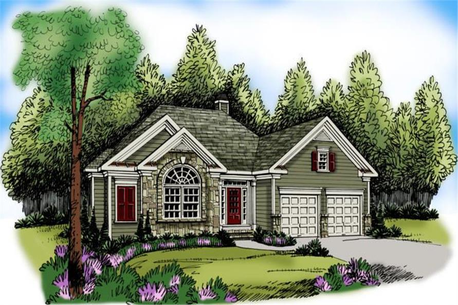 Main image for house plan # 17213
