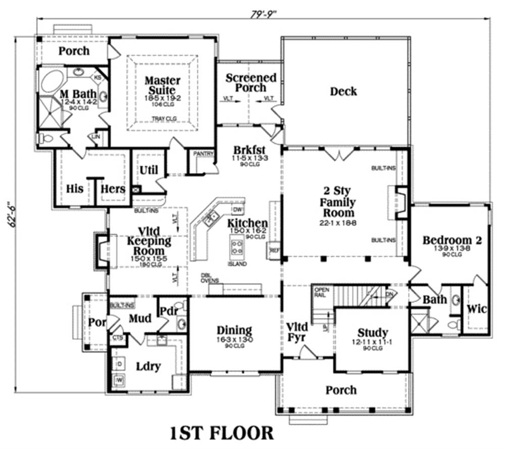104-1034: Floor Plan Main Level