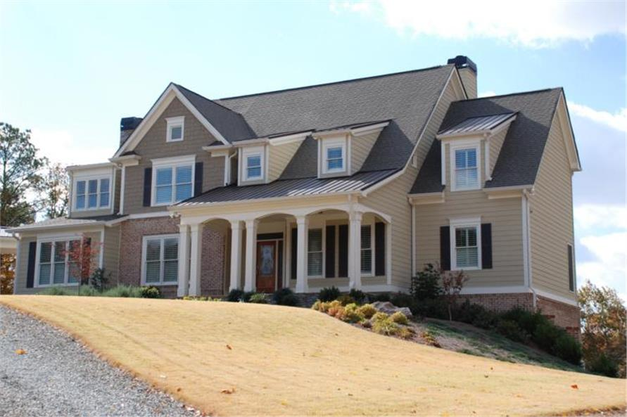 Home Exterior Photograph of this 5-Bedroom,4416 Sq Ft Plan -4416