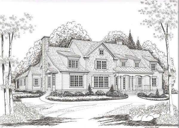 House Plan Dunwoody Front Elevation
