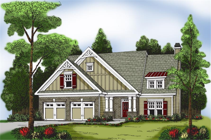 104-1036: Home Plan Rendering