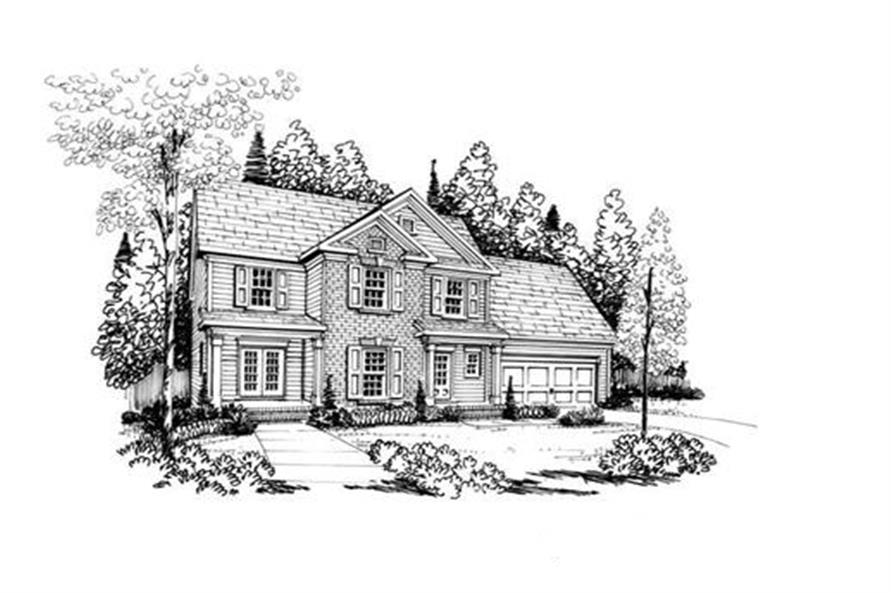 104-1039: Home Plan Rendering